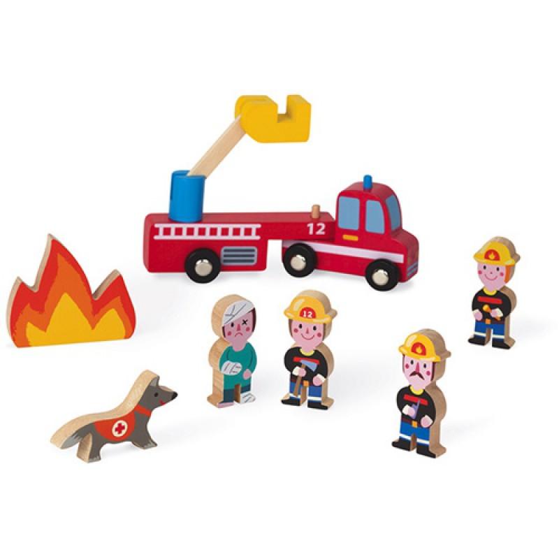 Story Mini brandweer, Janod