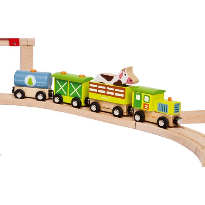 Story trein de Boerderij, Janod