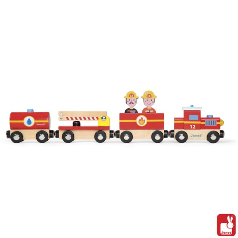 Story trein de Brandweer, Janod
