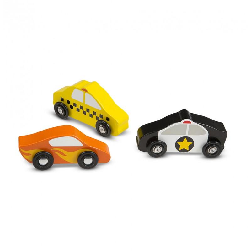 Houten auto's, Melissa & Doug