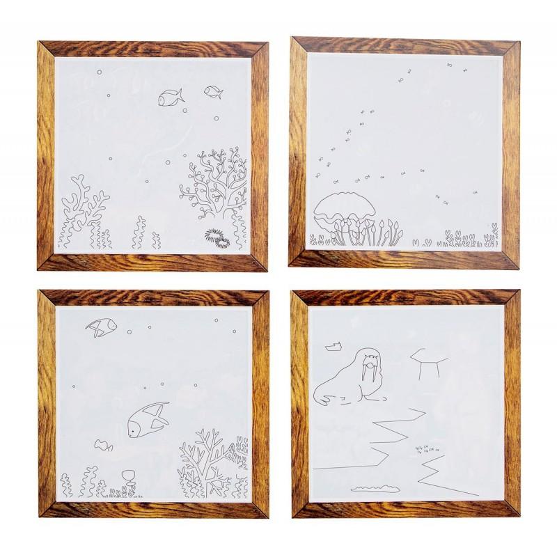 Schilderen met water Oceaan, Tiger Tribe