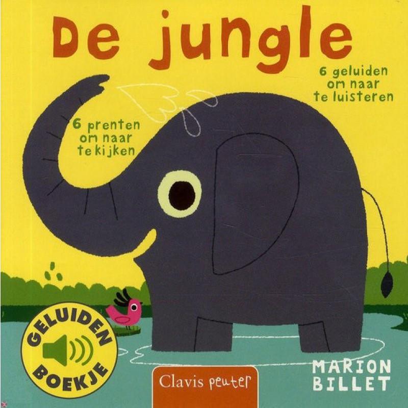 De Jungle geluidenboekje