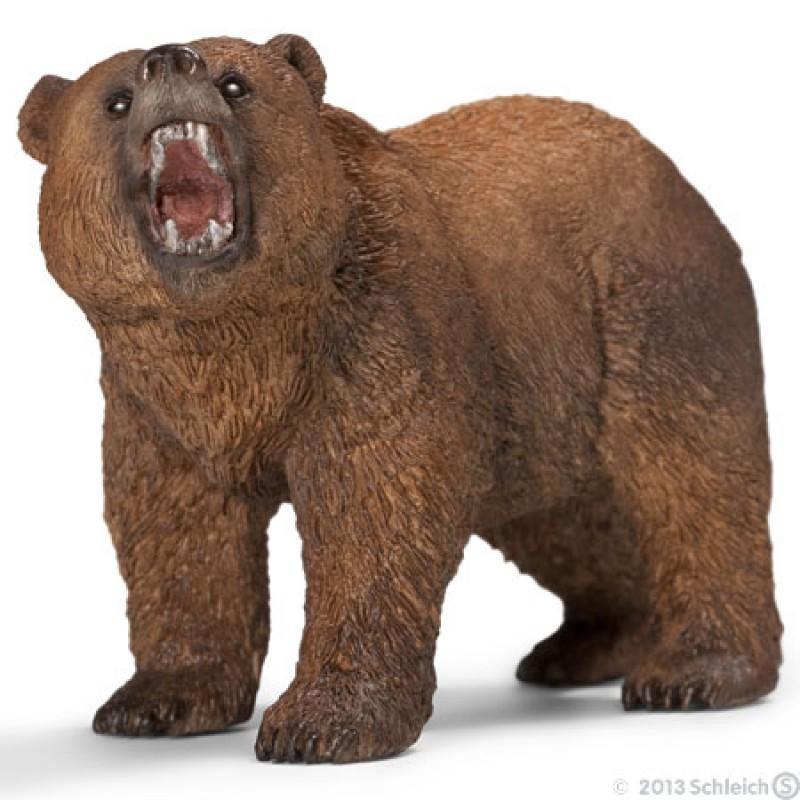 Grizzlybeer mannetje, Schleich