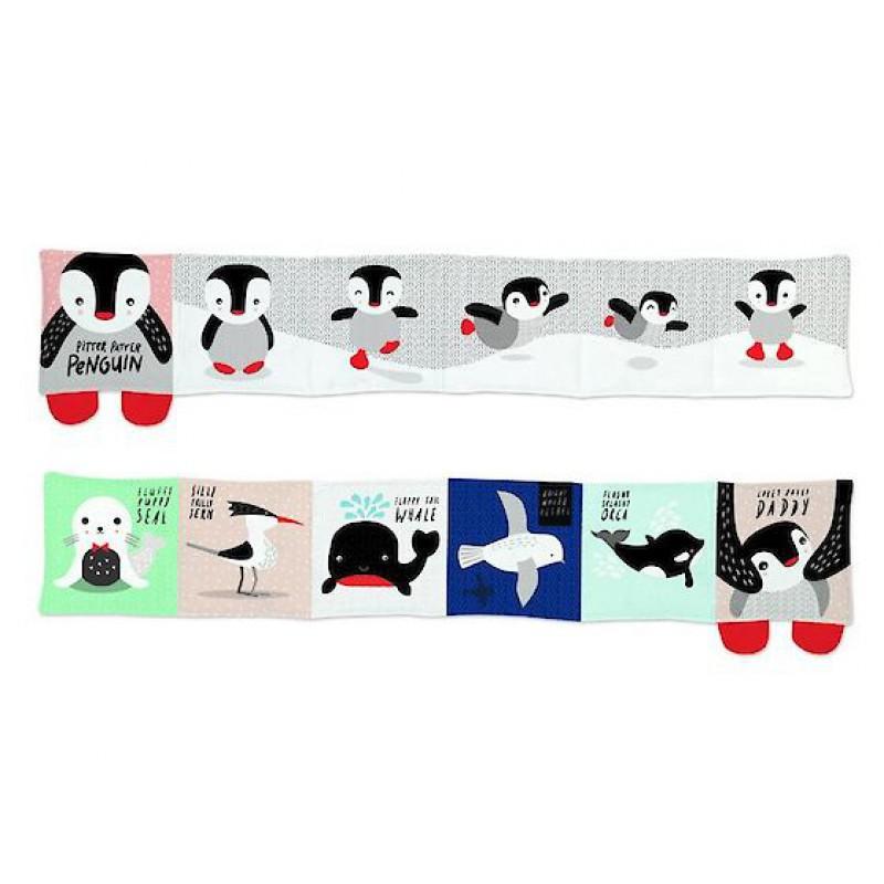 Knisperboek pinguin, Wee Gallery