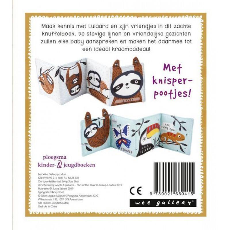 Knuffelboekje luiaard, Wee Gallery