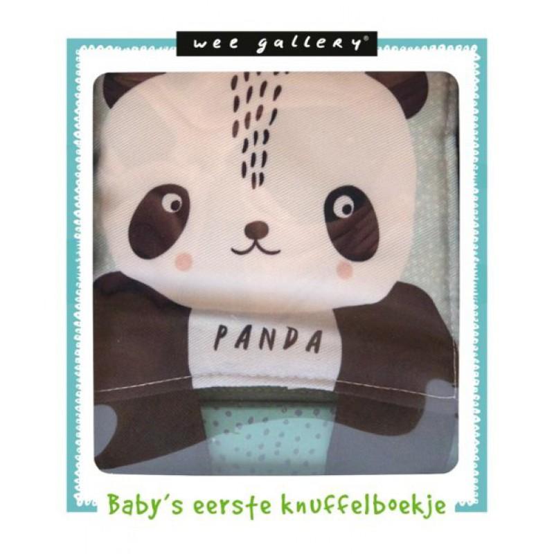Knuffelboekje panda, Wee Gallery