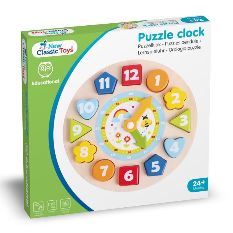 Puzzelklok, New Classic Toys