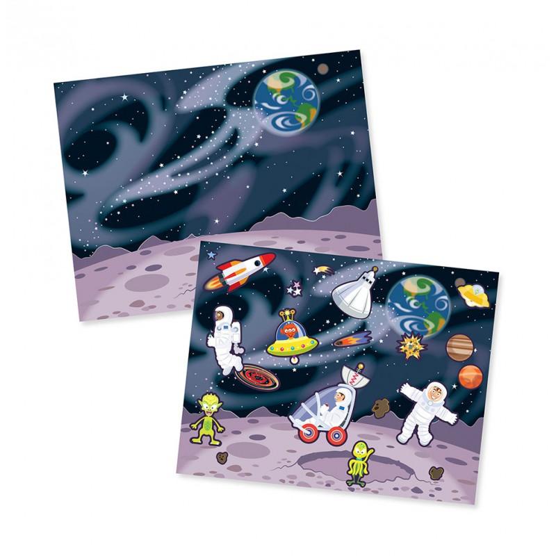 Herbruikbaar stickerblok Avontuur, Melissa & Doug