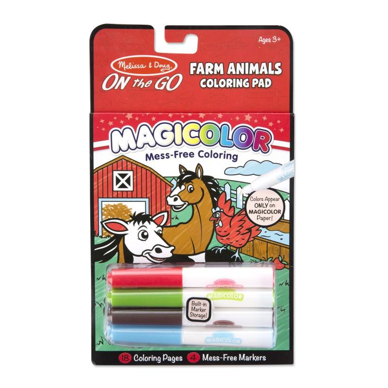 Magicolor boerderijdieren, Melissa & Doug