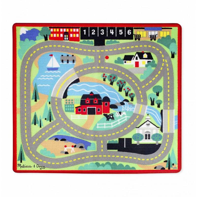 Round the Town speelkleed met auto's, Melissa & Doug
