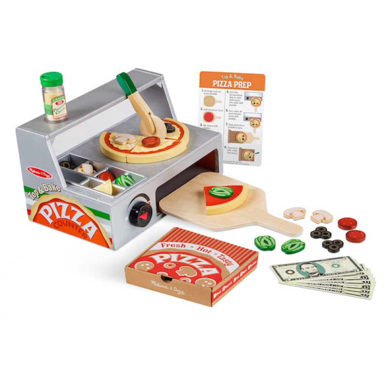 Top & Bake pizzeria, Melissa & Doug