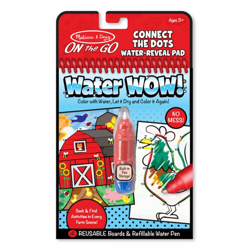 Water Wow Boerderij Connect the Dots, Melissa & Doug