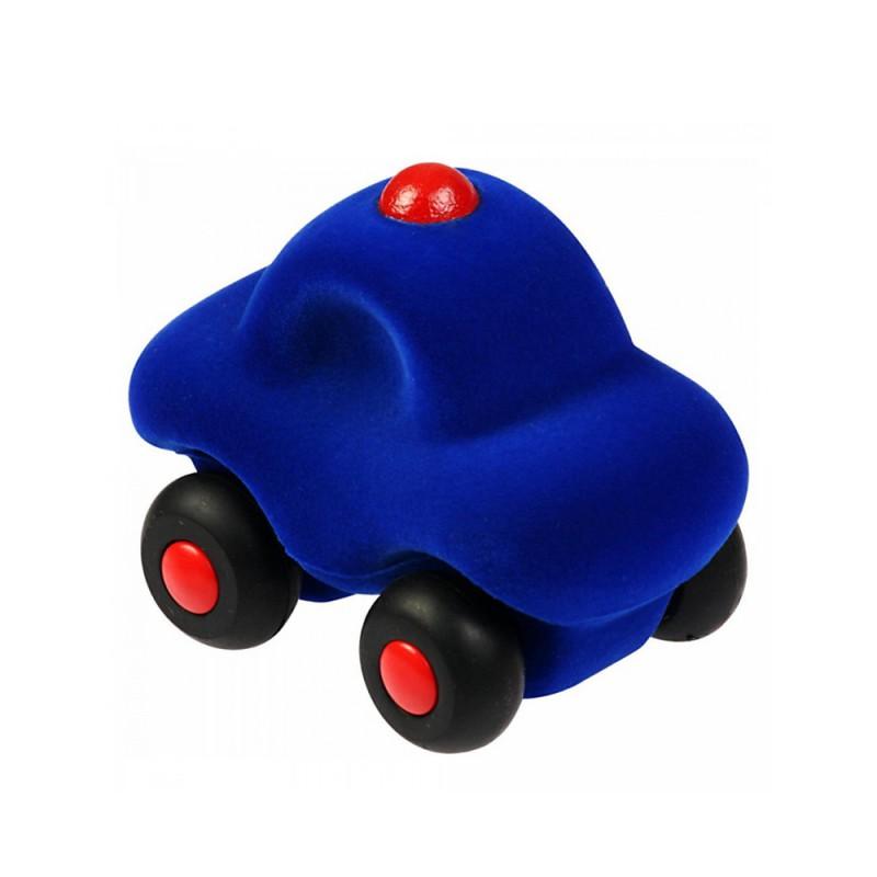 Kleine politieauto blauw, Rubbabu