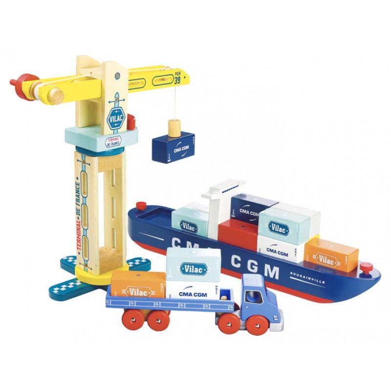 Vilacity containervrachtwagen, Vilac