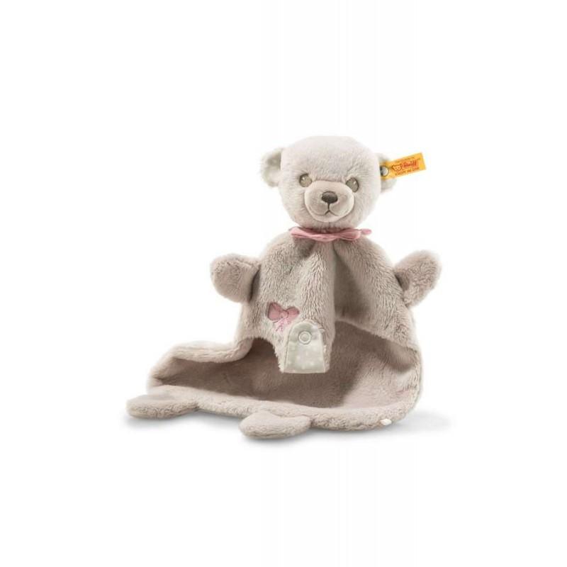 Hello Baby knuffeldoek beer Lea, Steiff