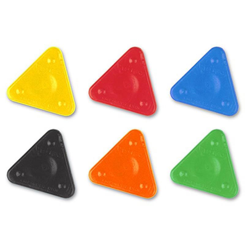 Driehoek waskrijt 6 kleuren, Primo