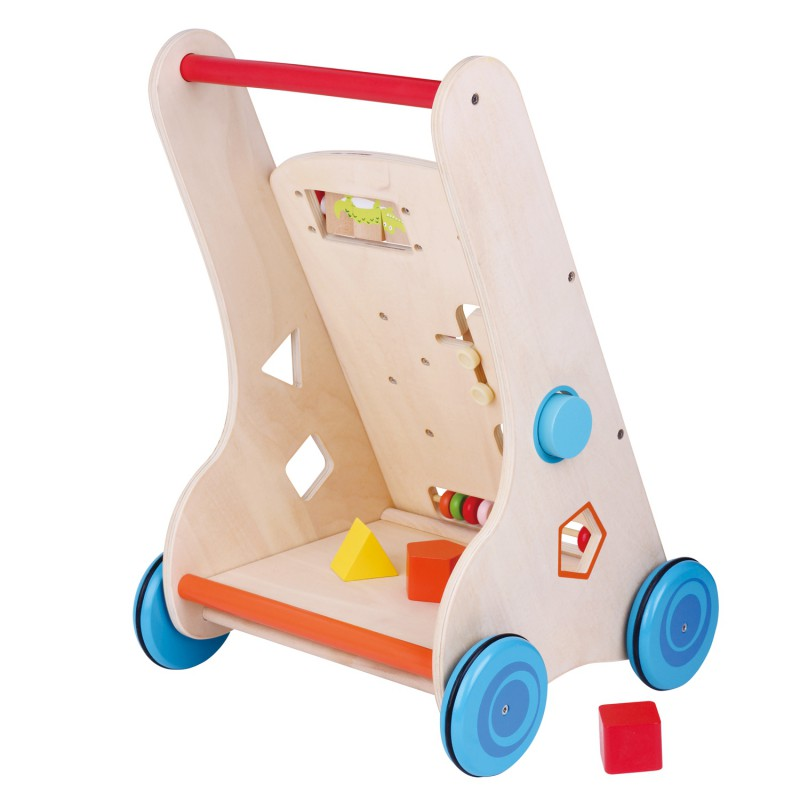 7 In 1 Walk and Play loopwagen, Lelin