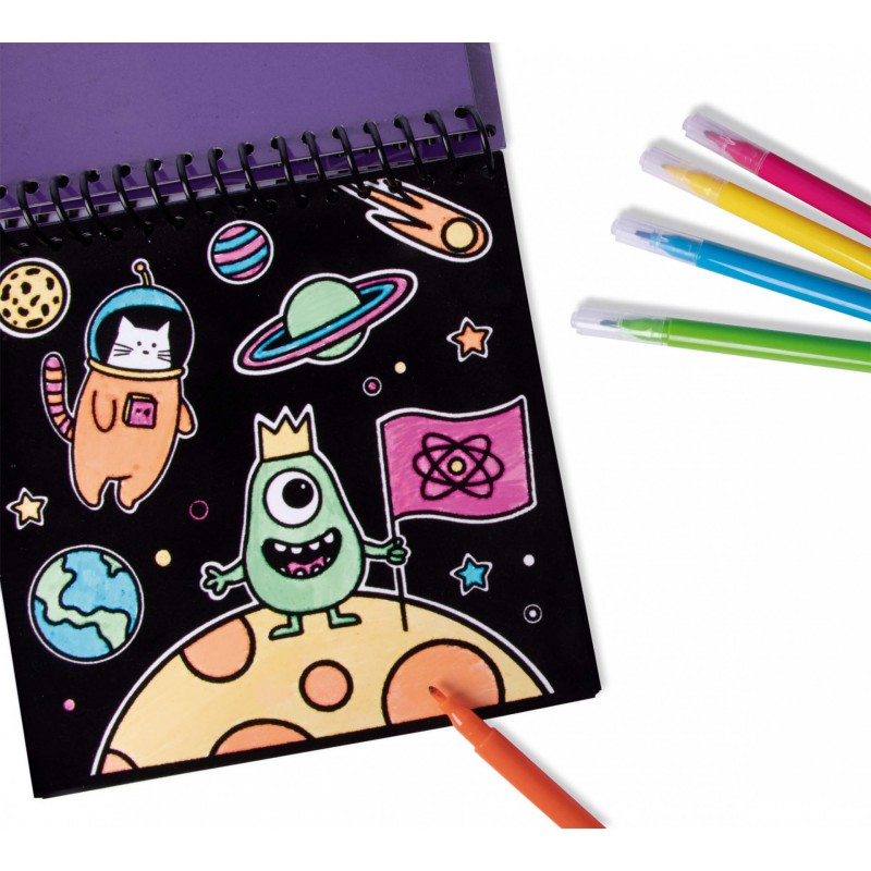 Kleurblok met vilt Space, Apli