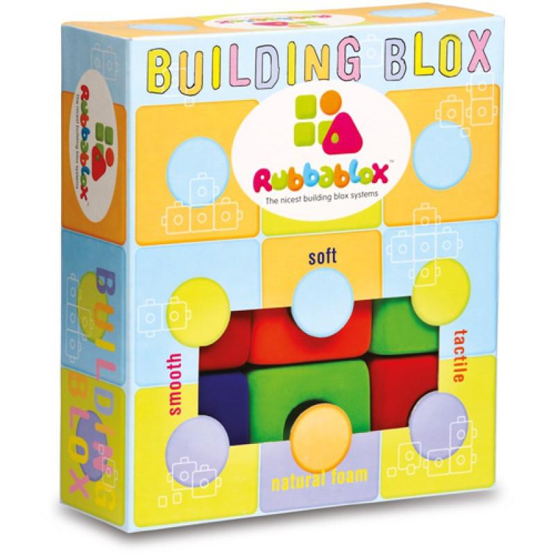 Rubbablox grote bouwblokken, Rubbabu