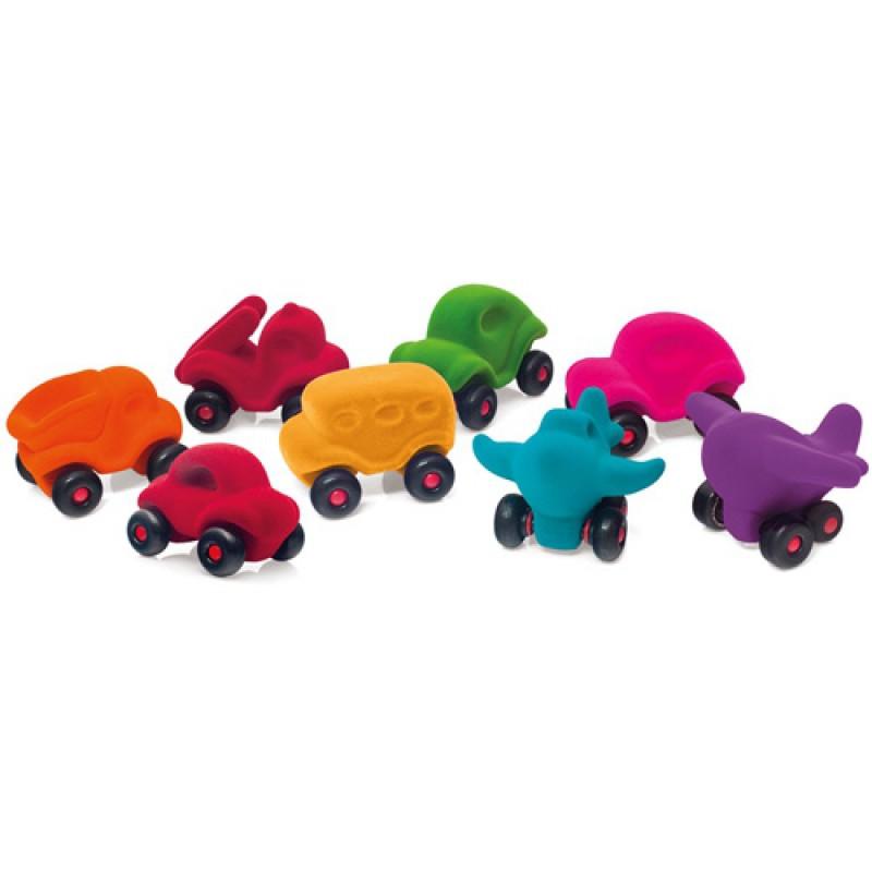 Kleine kiepauto oranje, Rubbabu