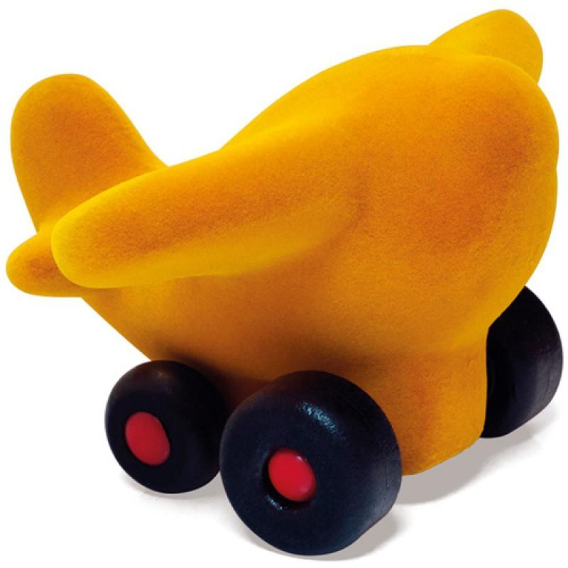 Klein vliegtuig geel, Rubbabu