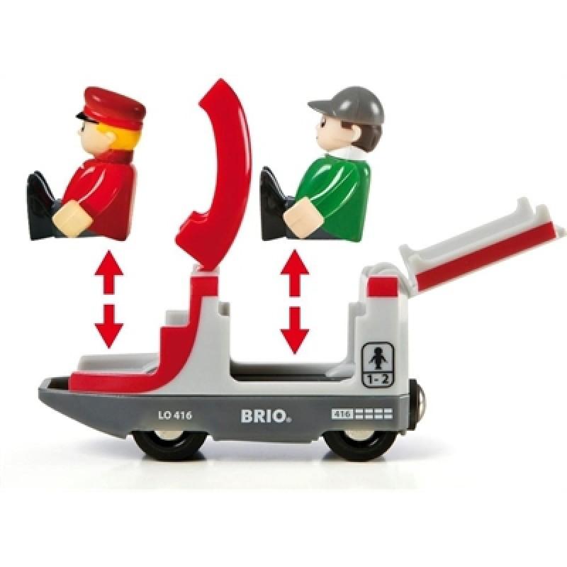 Travel Switching treinset, Brio