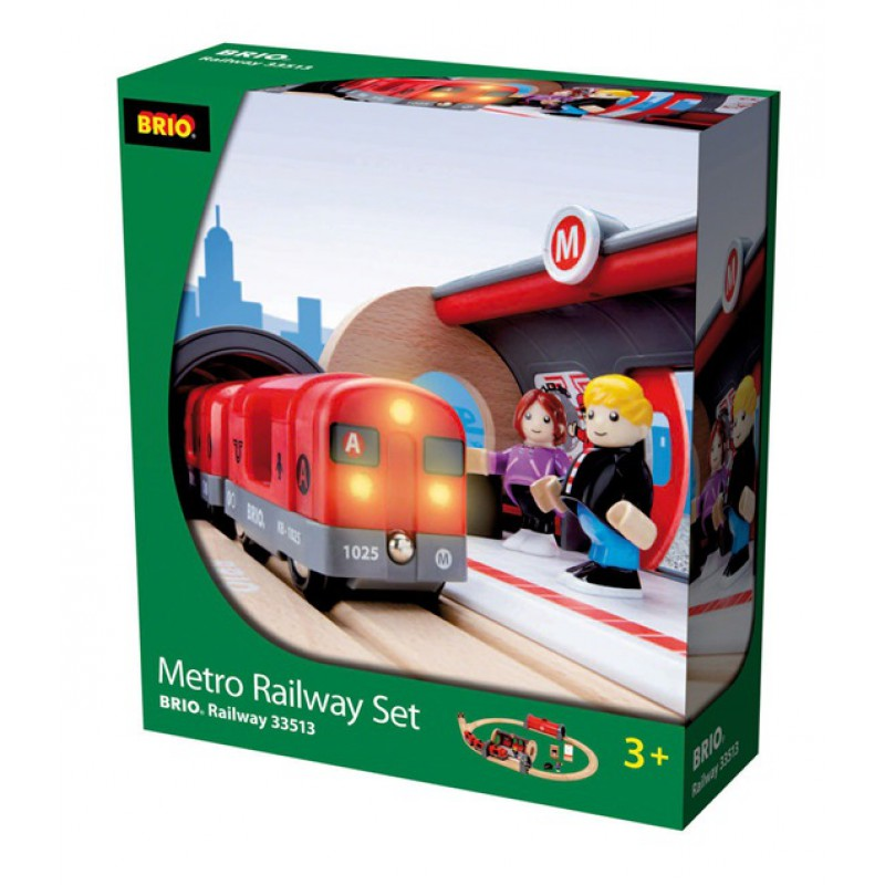 Metro Railway treinset, Brio