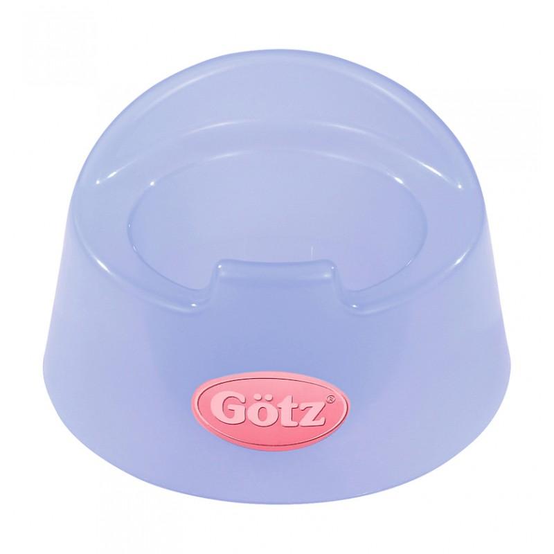 Blauw potje babypop, Goetz