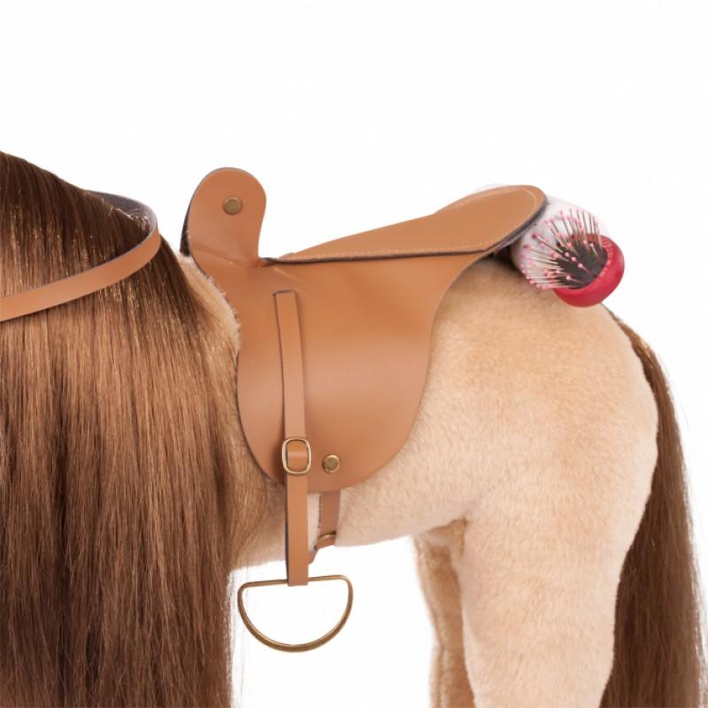 Groot paard Sparky met stylinghaar, Goetz