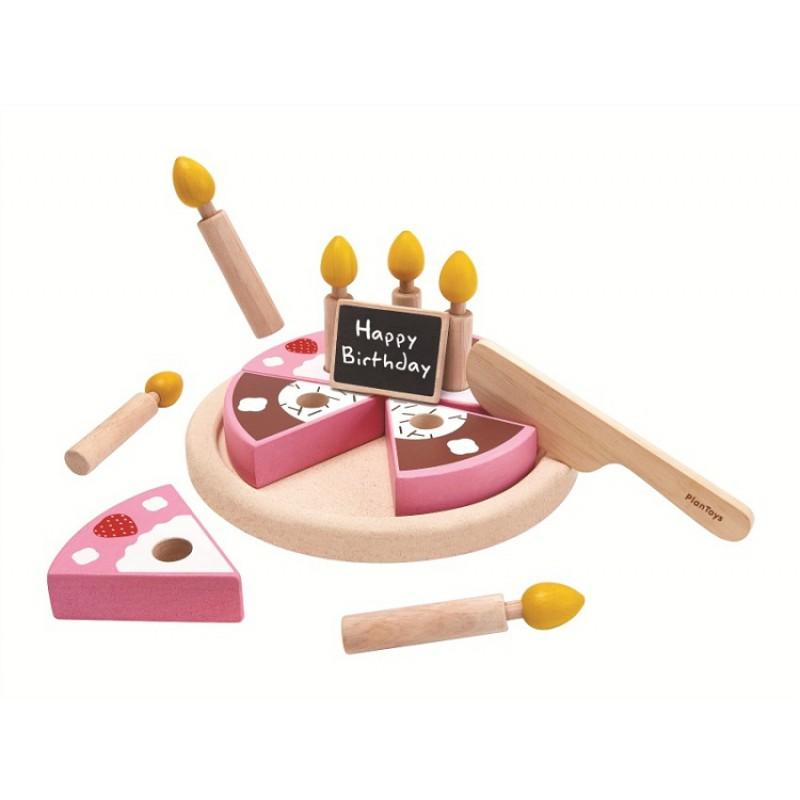 Verjaardagstaart, Plan Toys