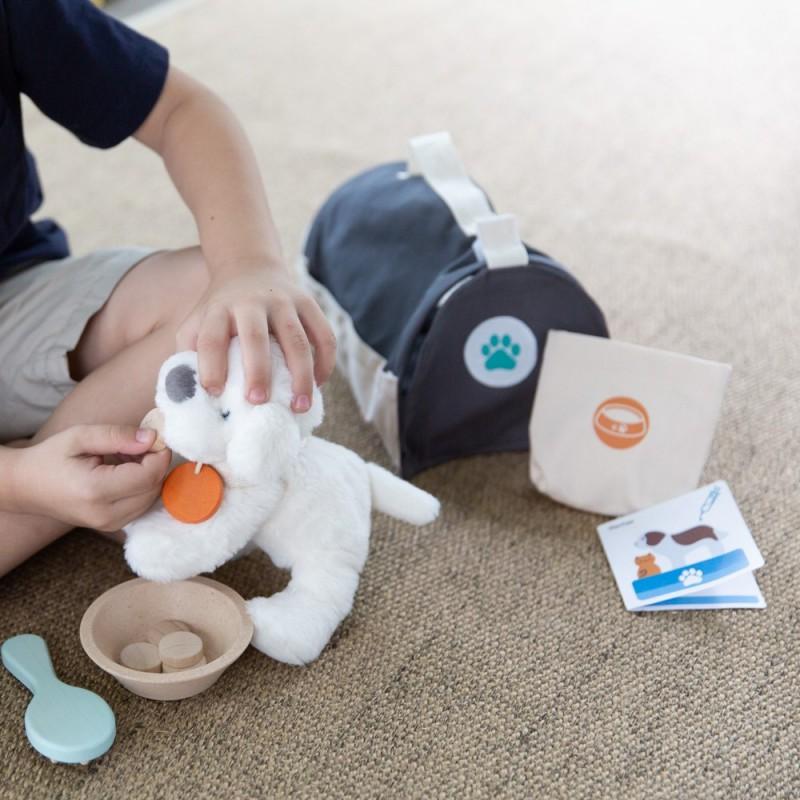 Huisdieren verzorgingsset, Plan Toys