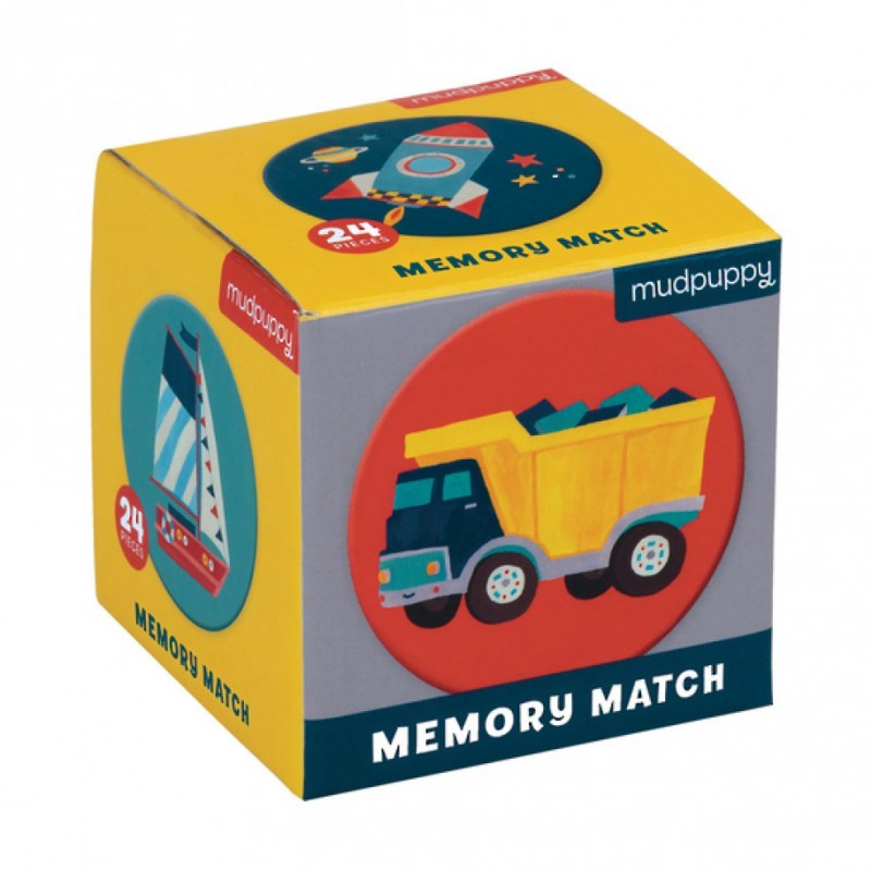 Mini memory Voertuigen, Mudpuppy