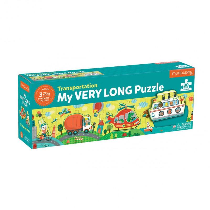 Extra lange puzzel transport, Mudpuppy