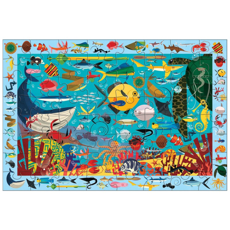 Zoek & vind puzzel Ocean Life, Mudpuppy