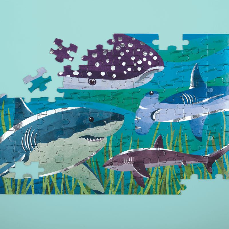 Metallic puzzel haaien, Mudpuppy