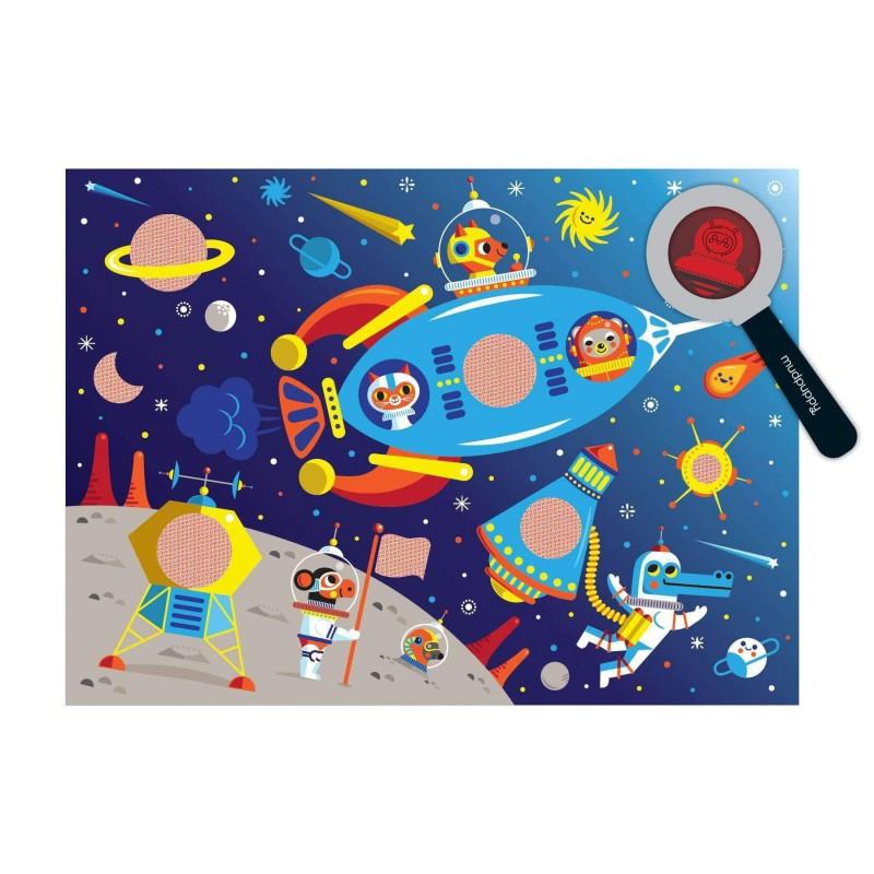 Secret pictures puzzel Outer Space, Mudpuppy
