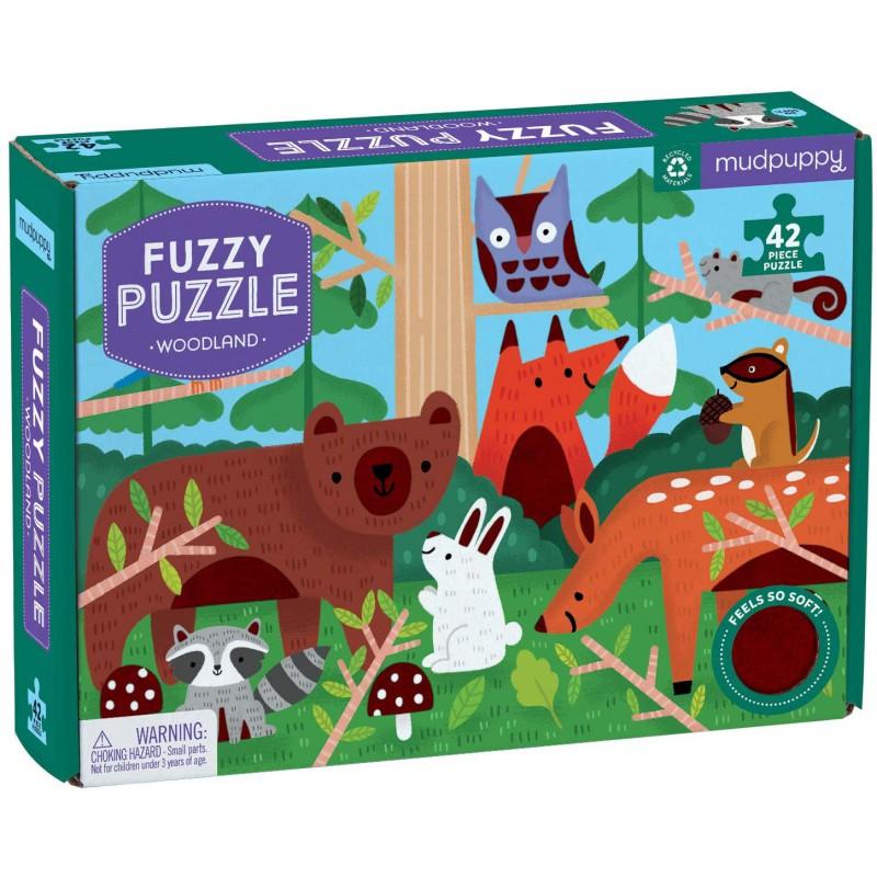 Fuzzy puzzel bosdieren, Mudpuppy