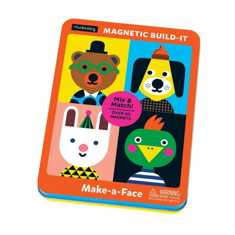 Make-a-Face magnetische verkleedpoppen, Mudpuppy