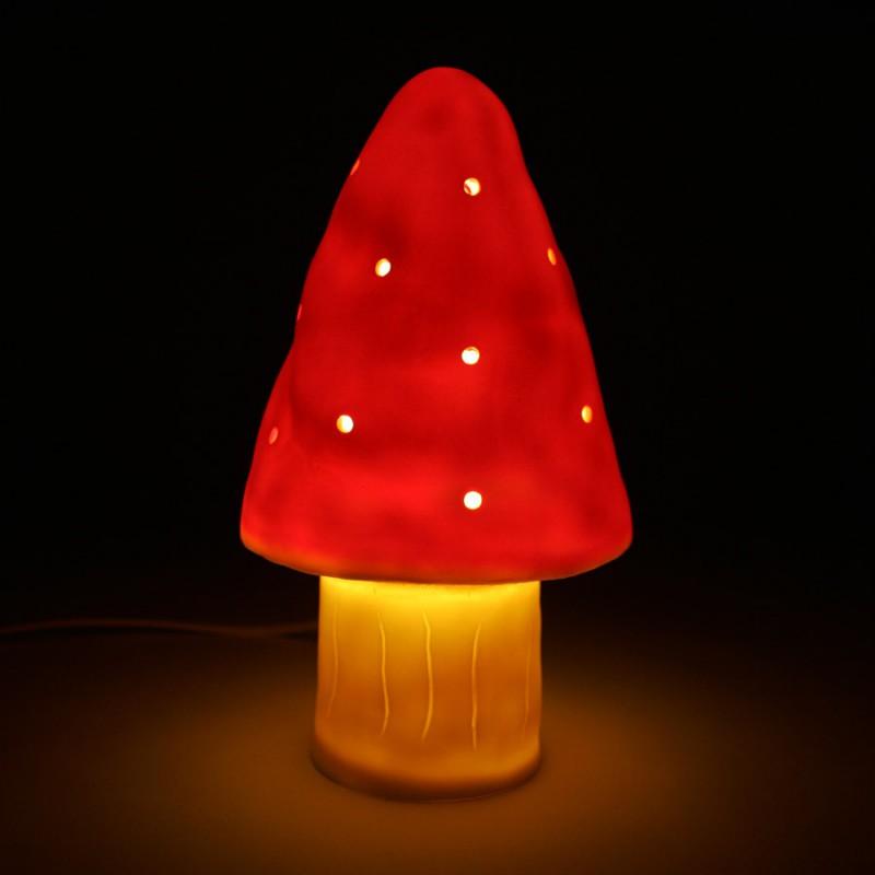 Led-lamp rode paddenstoel, Egmont Toys