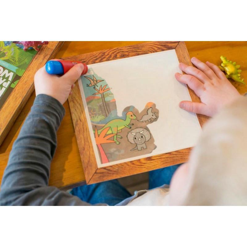 Schilderen met water Dino's, Tiger Tribe