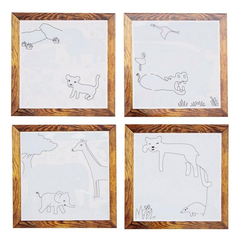 Schilderen met water Safari, Tiger Tribe