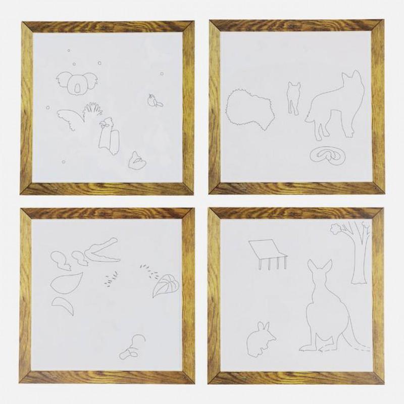Schilderen met water Aussie Animals, Tiger Tribe