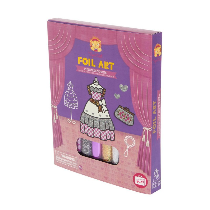 Foil Art prinsessenjurken, Tiger Tribe