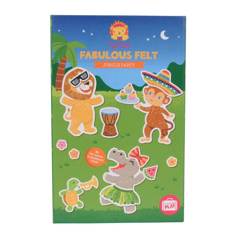 Fabulous Felt Jungle Party, Tiger Tribe