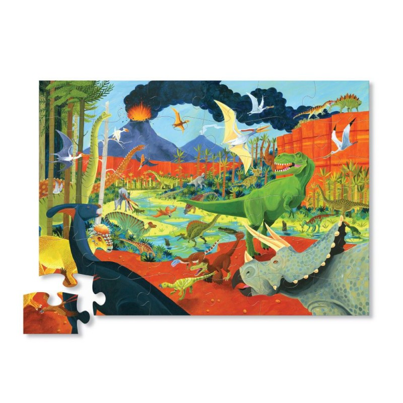 Puzzel Land of Dinosaurs 24 st, Crocodile Creek