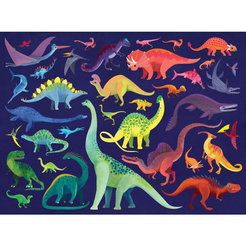 Puzzel Dino World 500 st, Crocodile Creek