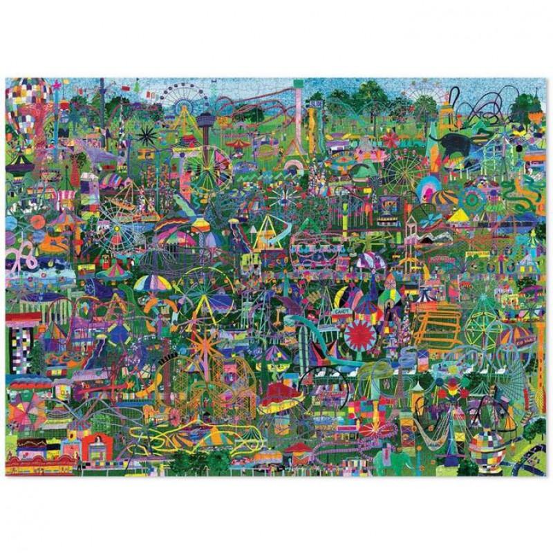 Puzzel Pretparken van de Wereld 1000 st, Crocodile Creek