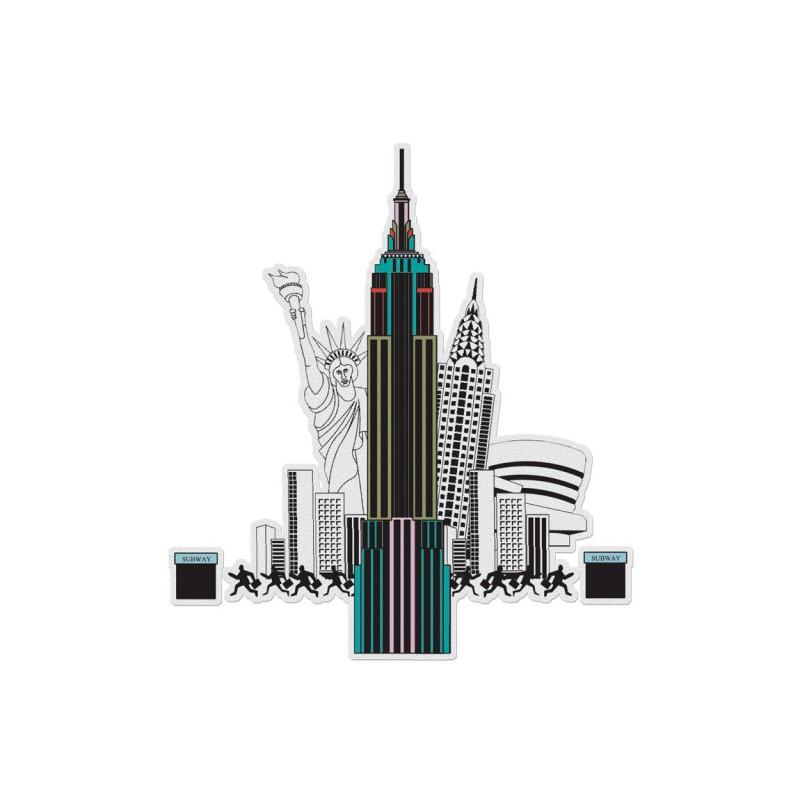 3D Color City New York, Mon Petit Art
