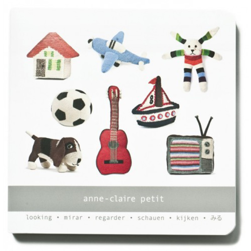 Kartonboekje Kijken, Anne-Claire Petit