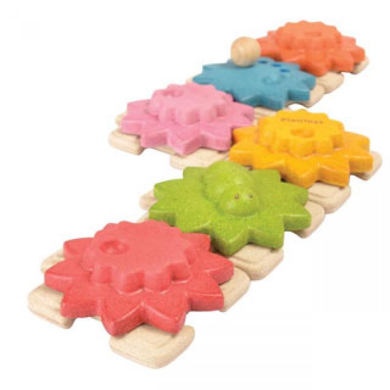 Gears tandwielenpuzzel, Plan Toys